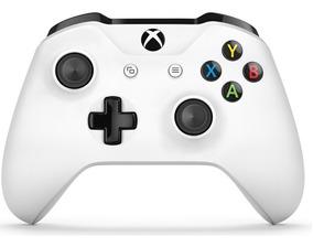 Controle Xbox One S Slim Wireless Branco Original Entrada P2