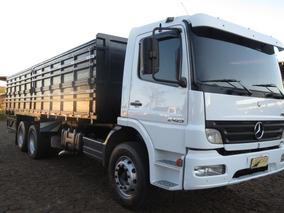 Mb Atego 2425 Truck Reduzido Granel Nova