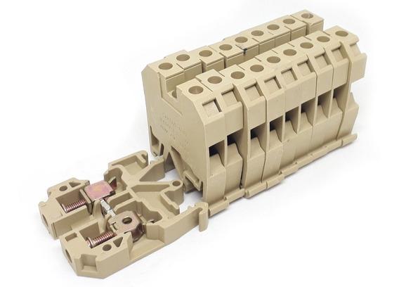 Sak Jxb 6/en ( Jut2-6 ) Borne De Passagem 6mm C/ 10 Unidades