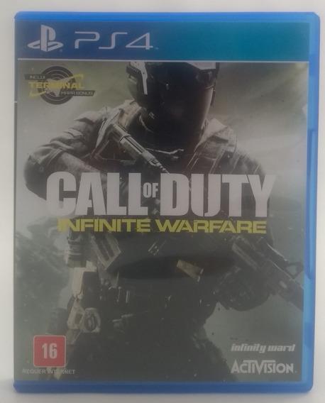 Jogo Call Of Duty Infinite Warfare Ps4 Midia Fisica