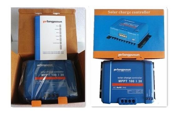 Controlador Solar Poderoso 50a Mppt 12v 24v Fangpusun