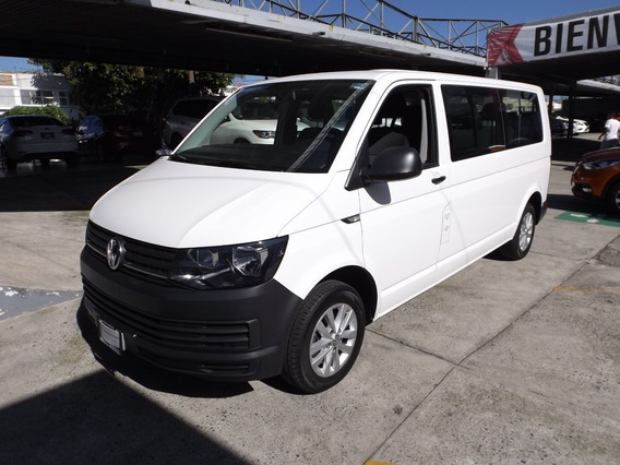 Volkswagen Transporter Tdi 8 Pas Aut. Dsg Ac 2.0 Lts. 2018
