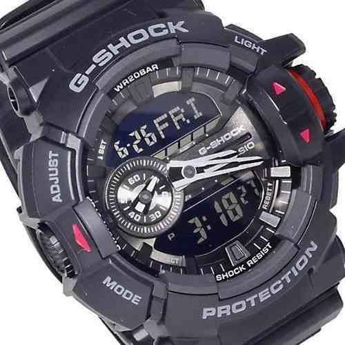 Relogio Casio Anadig Ga400 G-shock Ga-400-1bdr Original