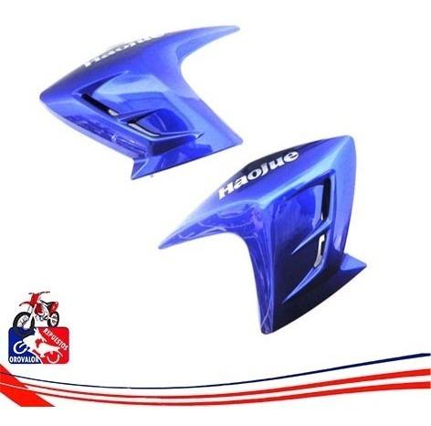 Tapa Lateral Haojue Hj150-9 Cool Azul Par Izq Y De