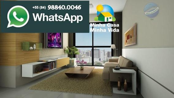 Apartamento Com 2 Quartos, Pronto Para Morar, Na Cidade Satélite, Pelo Programa Minha Casa Minha Vida - Viver Bem - Ap0042