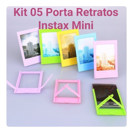 Kit 05 Porta Retratos Para Fotos Instax Mini