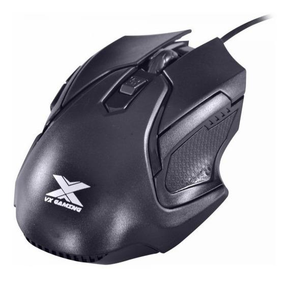 Mouse Óptico Vx Gaming Wasp Ergonômico 2400 Dpi