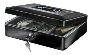 Caja De Dinero Con Charola Y Cerradura Para Llaves