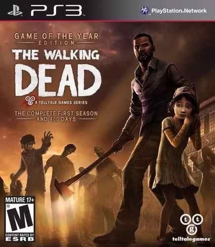 Tha Walking Dead - Game Of The Year Edition - Ps3 Lacrado