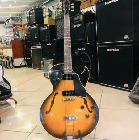 Guitarra Gibson Semi Acústica Es135 + Case Usada + Linda