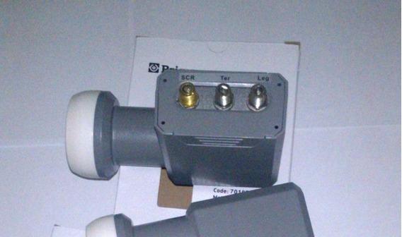 Kit 10 Lnb- Scr Prime P/ Ate 5 Receptores Oi Na Mesma Antena
