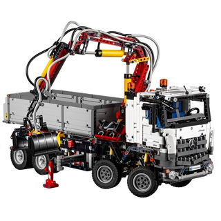 Mercedes-benz Arocs 3245 Lego Technic 42043 Edificio Kit