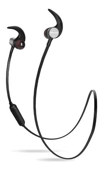 Fone Bluetooth Profissional Awei T12 Suporte De Silicone