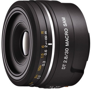 Sony Dt 30mm F2.8 Macro Sam Sal30m28 Lente Para Montura - Ve