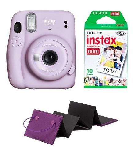Fujifilm Instax Mini 11 Selfie +10 Fotos Lila Morado Oficial