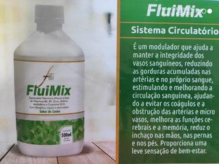 Fluimix Suplemento Vitamínico Mineral Sistema Circulatório