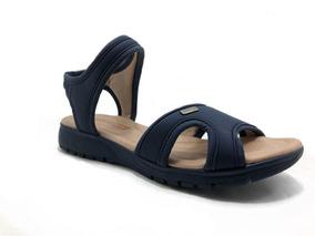 Sandália Comfortflex Soft Plus Marinho 1851303