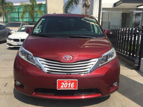 Toyota Sienna 3.5 Xle Limited At 2016