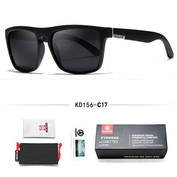 Óculos De Sol Masculino Polarizado Uv400 Kdeam Original
