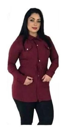 Parka Jaqueta Casaco Feminina Plus Size 44 Ao 52