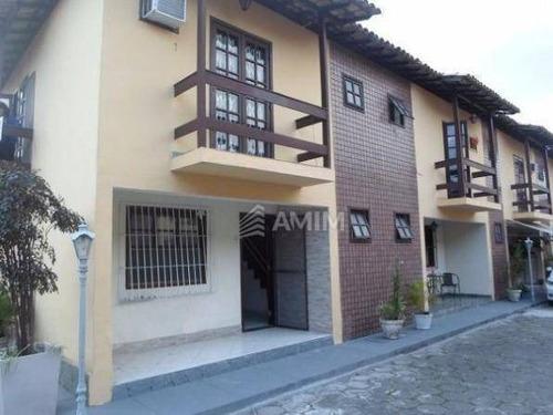Casa Em Condomínio, Com Sala Ampla E 2 Quartos Com Varanda Em Cafubá - Ca0326