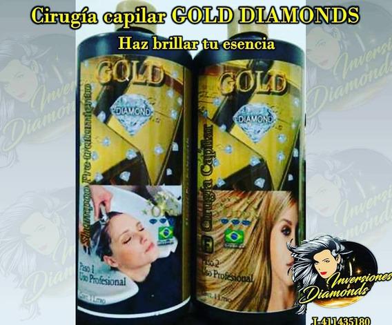Cirugia Y Cera Fria Gold Diamond