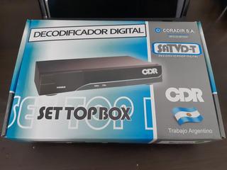 Decodificador Digital Cdr 3000 Tda.