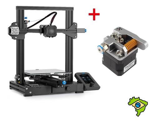 Imagem 1 de 7 de Kit Impressora 3d Ender 3 V2 + Extrusora Alumínio