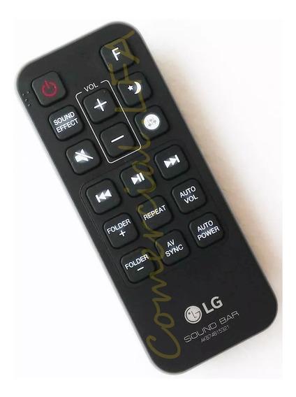 Controle Original Lg Akb74815321 Soundbar Sj5 Sound Bar Sh5