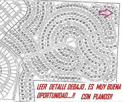 Barrio San Matias Area 4 Lote 730 + Plano Proyecto Escobar