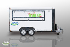 Trailer Easy Transport - Food Truck, Food Trailer 2.0