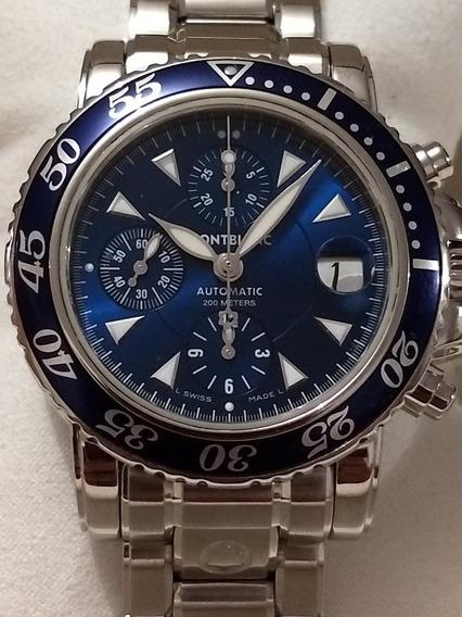 Reloj Montblanc Meisterstück Sport Cronógrafo Automatic 42mm