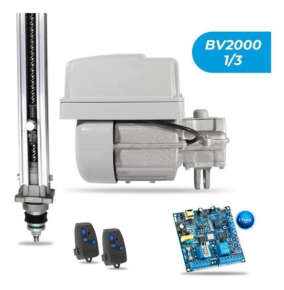 Kit Motor Portão Eletrônico Basculante 1/3hp Bv2000 Peccinin