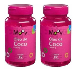 Kit 2 Óleo Coco 1000mg (total 120 Comprimido)