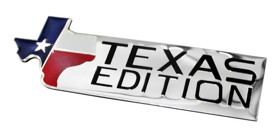 Emblema Adesivo Ford Texas Edition F250 S10 Ram Acessório