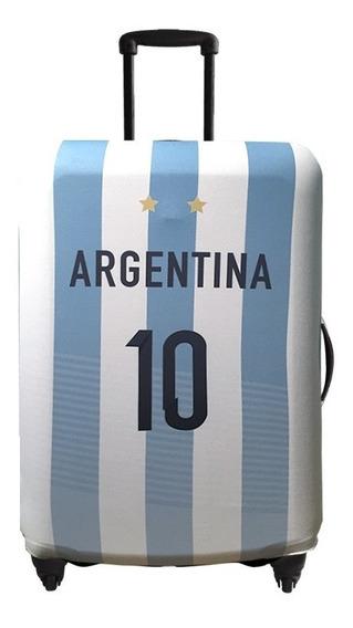 Funda De Valija Bag Covers Original Camiseta Argentina