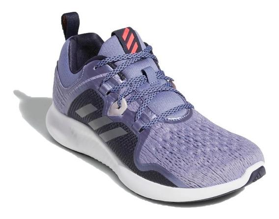 adidas Zapatillas Running Mujer Edge Bounce Violeta - Negro