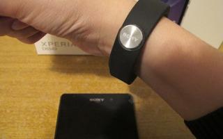 Pulseira Inteligente Para Celular Android Smartband Sony