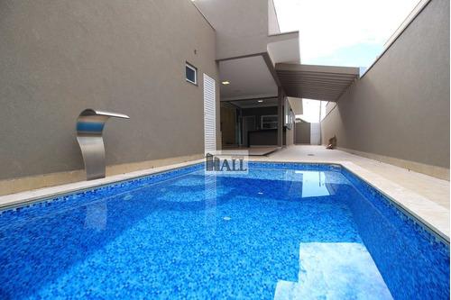 Casa À Venda Condomínio Damha Vi Com 4 Quartos, 4 Vagas E 320m² - V7950