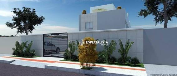 Cobertura Com 2 Dormitórios À Venda, 55 M² Por R$ 205.000 - Xangri-lá - Contagem/mg - Co0028