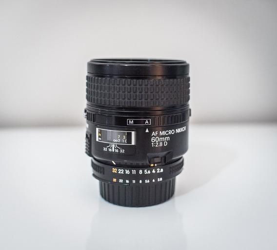 Lente Nikon 60mm 2.8d Macro