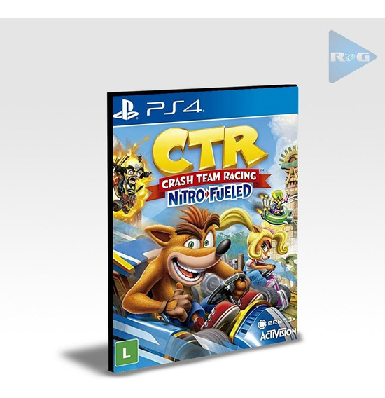 Crash Team Racing Nitro-fueled Ps4 - Português - Envio Agora