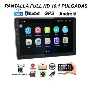 Radio Multimedia Android Pantalla 10.1 Gps Mapas Camara