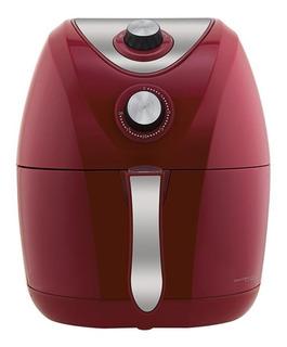 Fritadeira sem óleo Philco Air Fry 3.2 L Saúde vermelha 220V