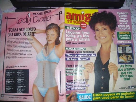Amiga 1239 2/94 Capa Suzana Vieira / Xuxa / Angelica / Mara