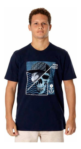 Camiseta Skull Surf Prancha Rosas Caveira Mexicana Pena Surf