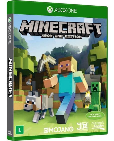 Minecraft Xbox One Mídia Física Português Novo