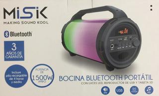 Bocina Bluetooth Portatil Misik Ms255