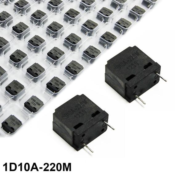 Kit 45 Indutores Fixo Amplificador Áudio Classe D 1d10a-220m