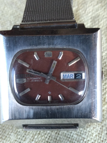 Relógio Seiko 6119 Quadrado